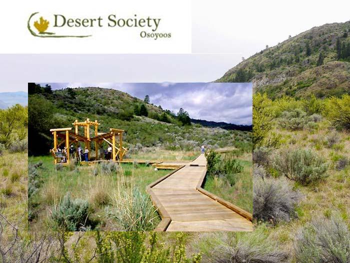 Link to the Osoyoos Desert Centre in the South Okanagan