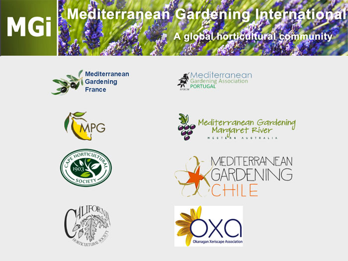 Link to the Mediterranean Gardening International website of interest for naturalization projects in BC